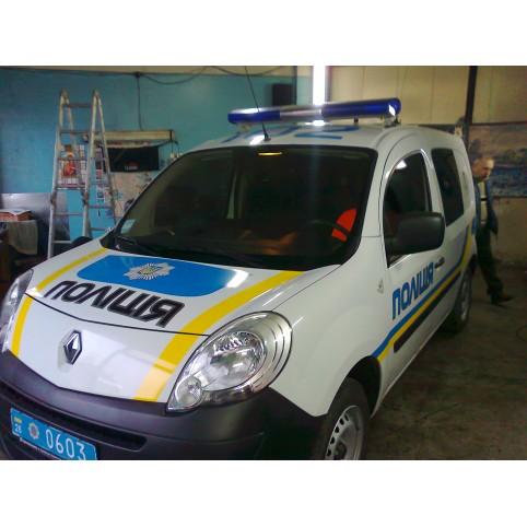 Поклейка машини для полициии